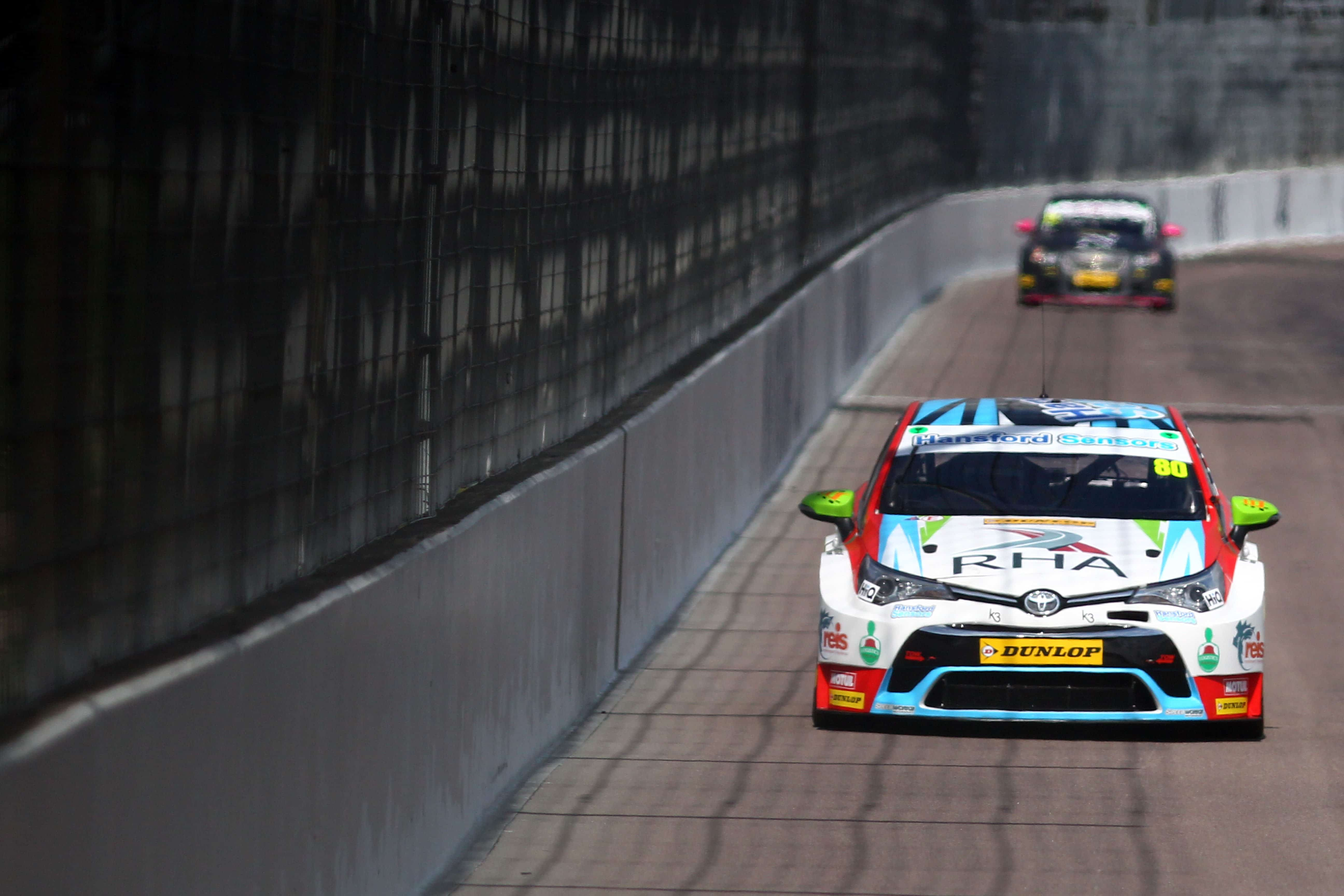 Ingram stuns at Rockingham with top ten charge from back of the grid