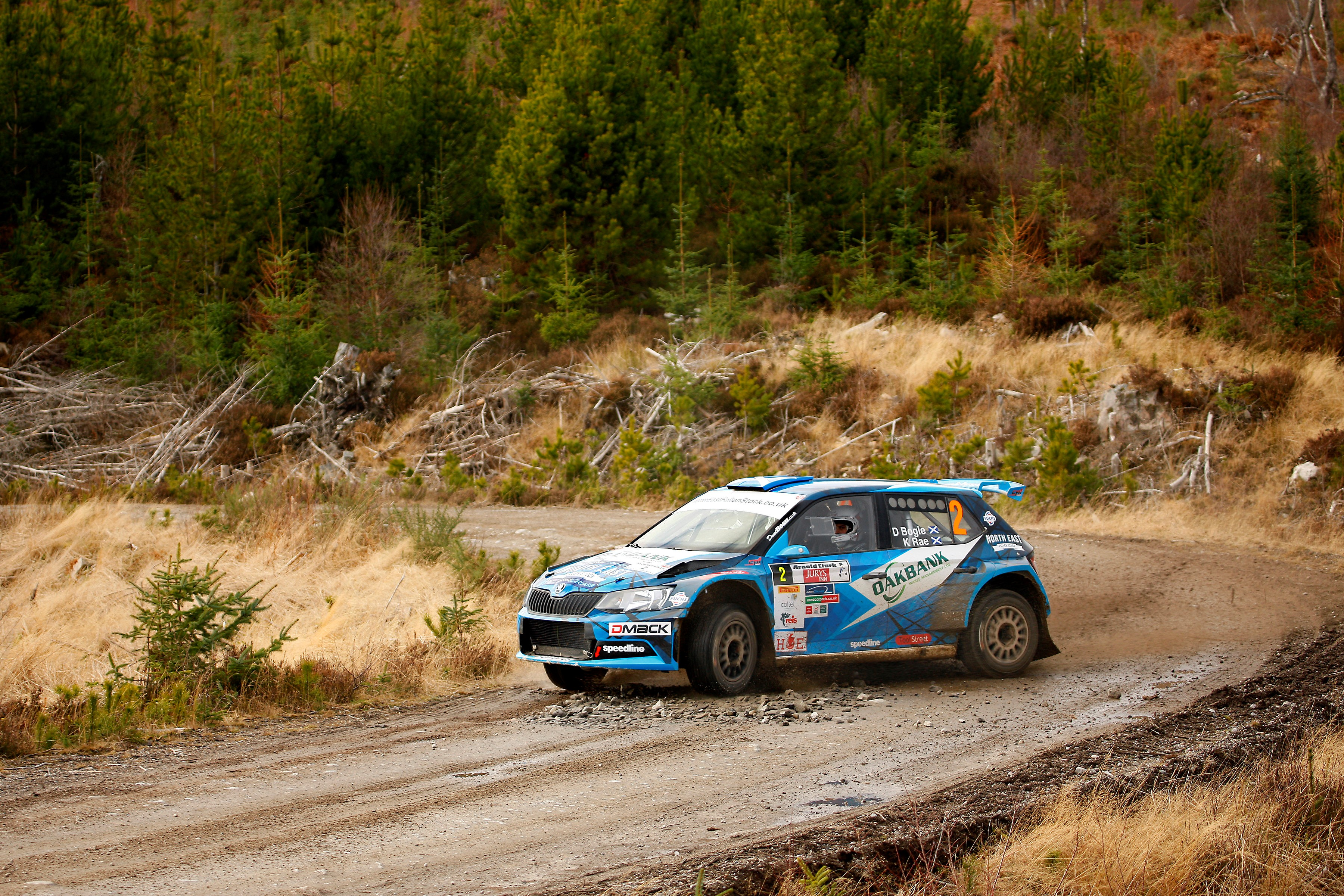 Scottish Rally Championship enters decisive phase on Grampian Forest Rally