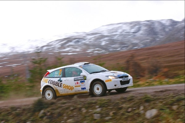 SRC - Gallacher and Nicol took inaugural SRC win on the Snowman Rally