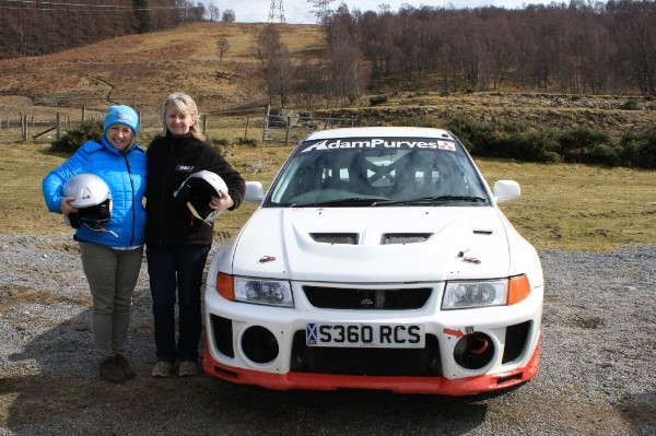 Reis Motorsport Insurance - Rallying debut Aileen Forrest