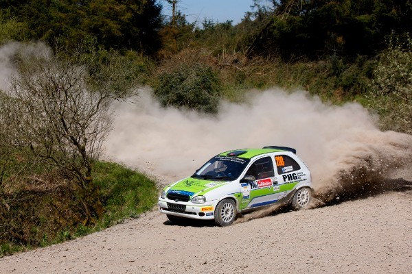 SRC 2018 Round 3 - Lawrie receives Scottish Rally Star Driver Award