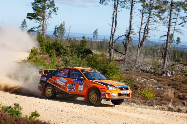Scottish Rally Championship returns TV