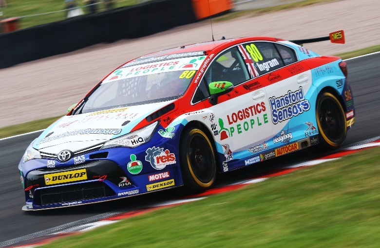 Tom Ingram at BTCC Oulton Park 2018