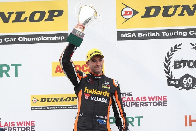 Classy Cammish upholds Honda's podium record