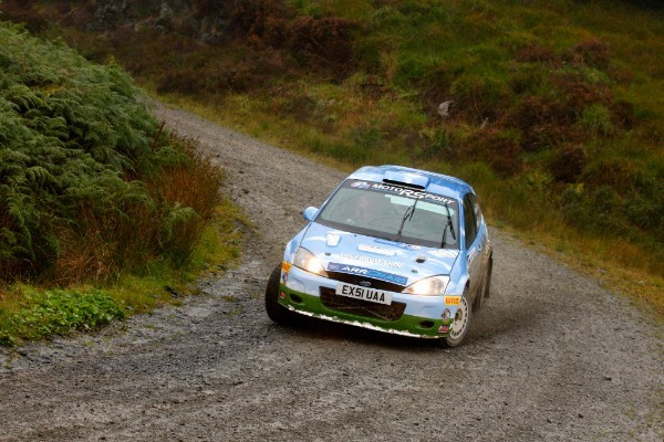 Gallacher becomes Scottish Rally Champion