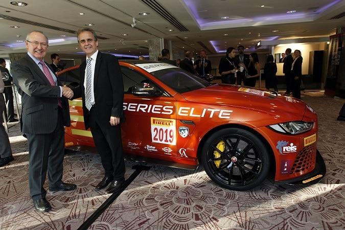 Series Elite unveils new race car