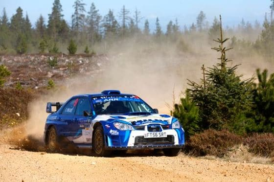 Exciting partnerships forged for 2019 Scottish Rally Championship