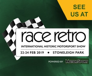 Come See Us at Race Retro 2019!