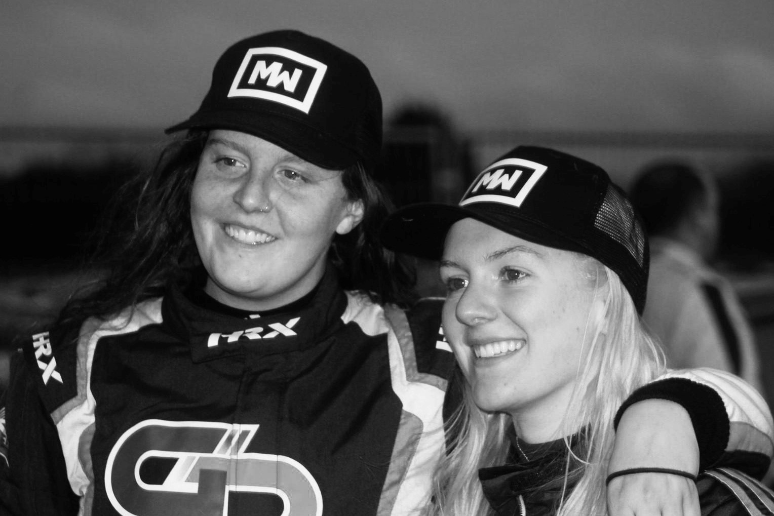 Team Motorsport Woman on the Podium