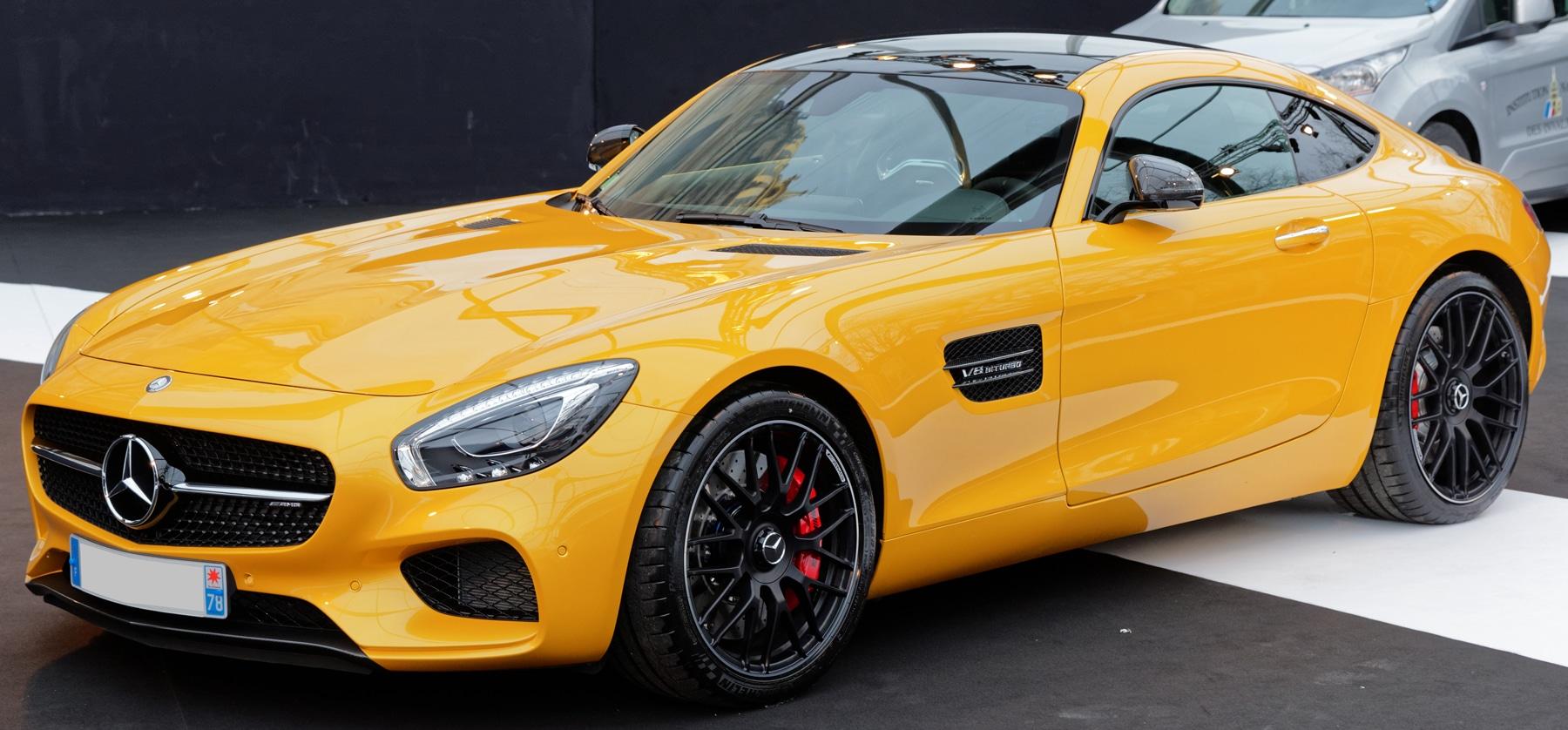 Mercedes-AMG-GT performance car
