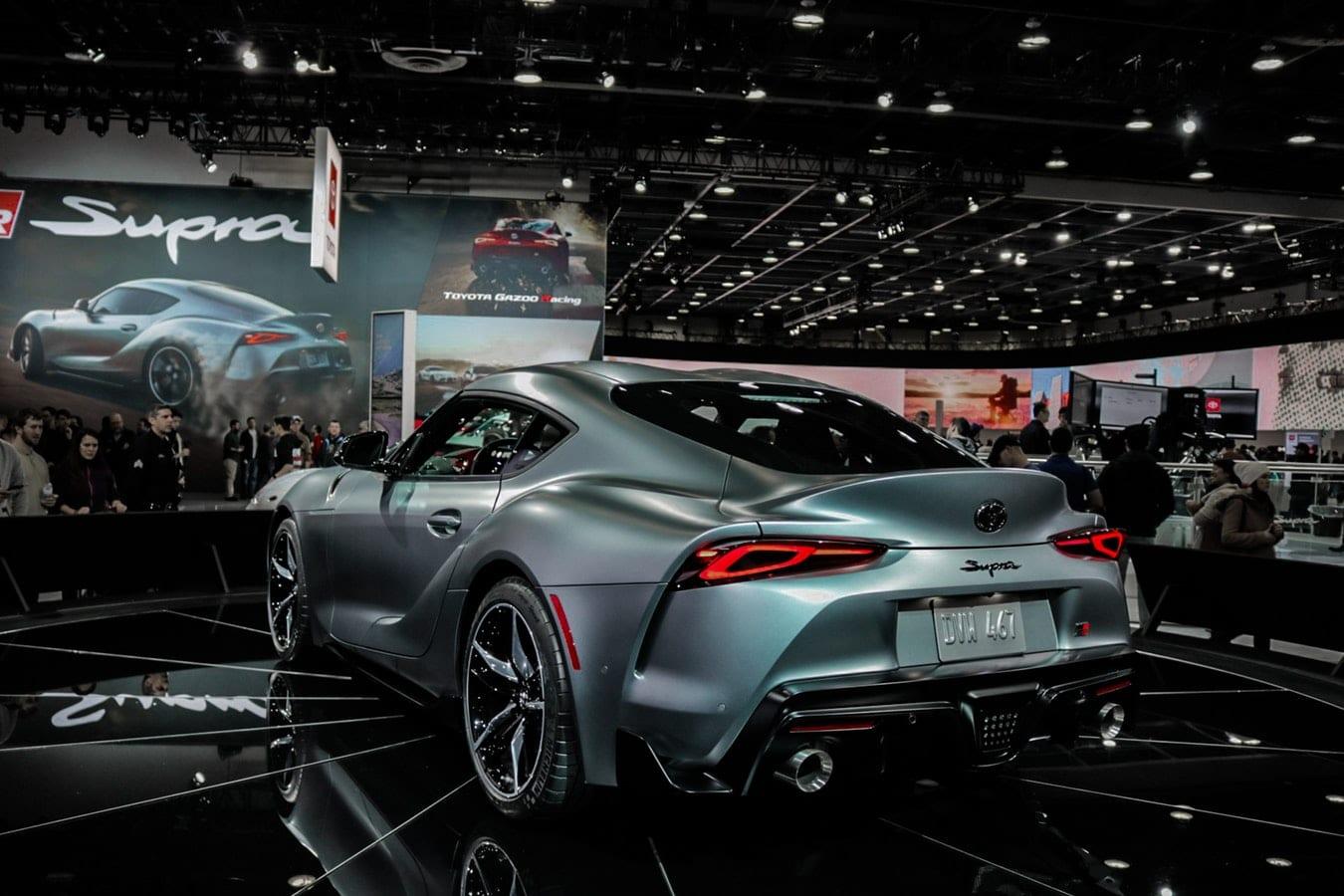 Toyota Supra 2019 at unveiling show