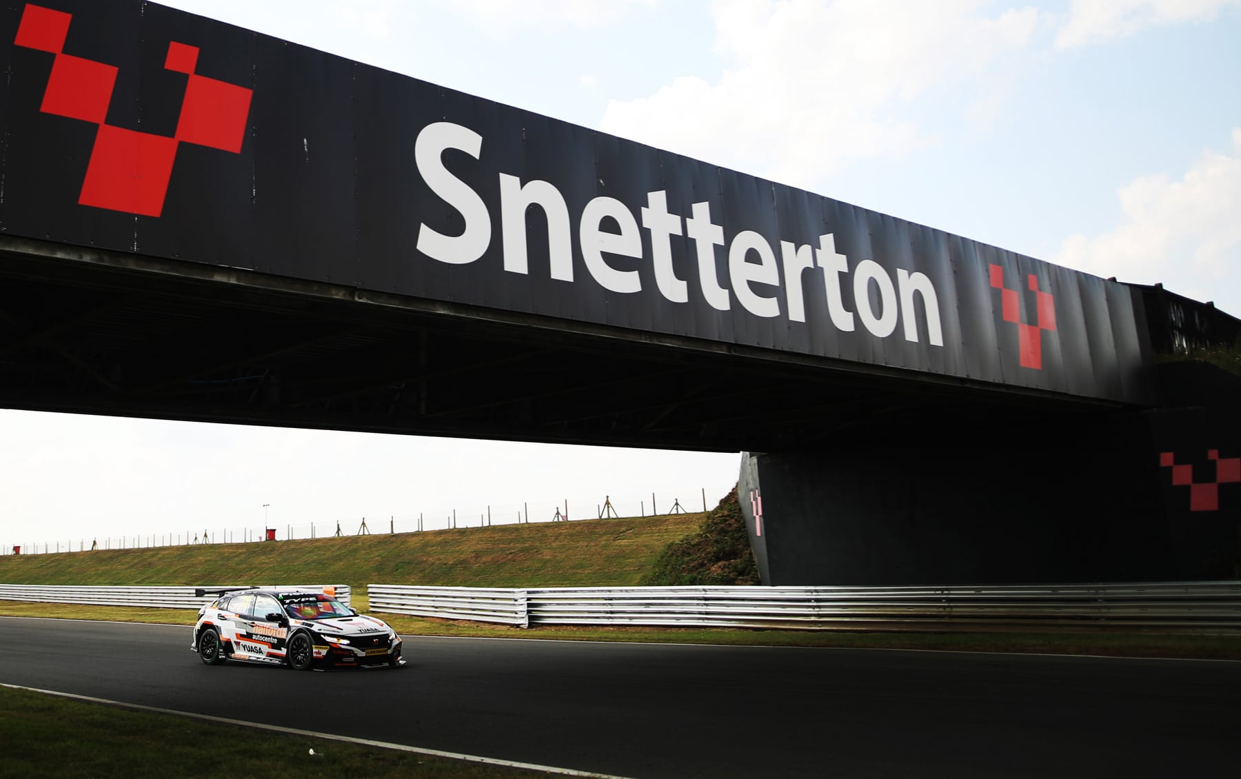 Snetterton Racetrack in Norfolk