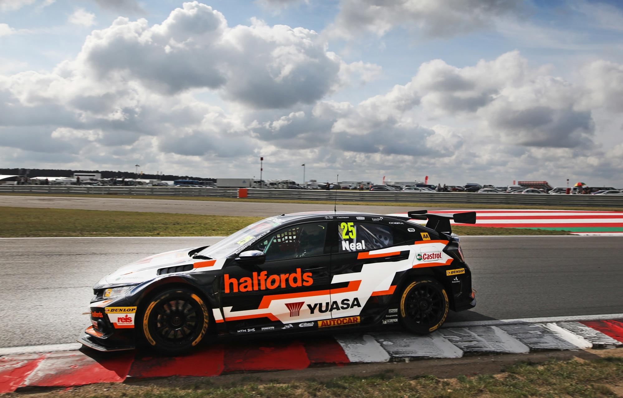 BTCC Halfords Yuasa Racing Matt Neal