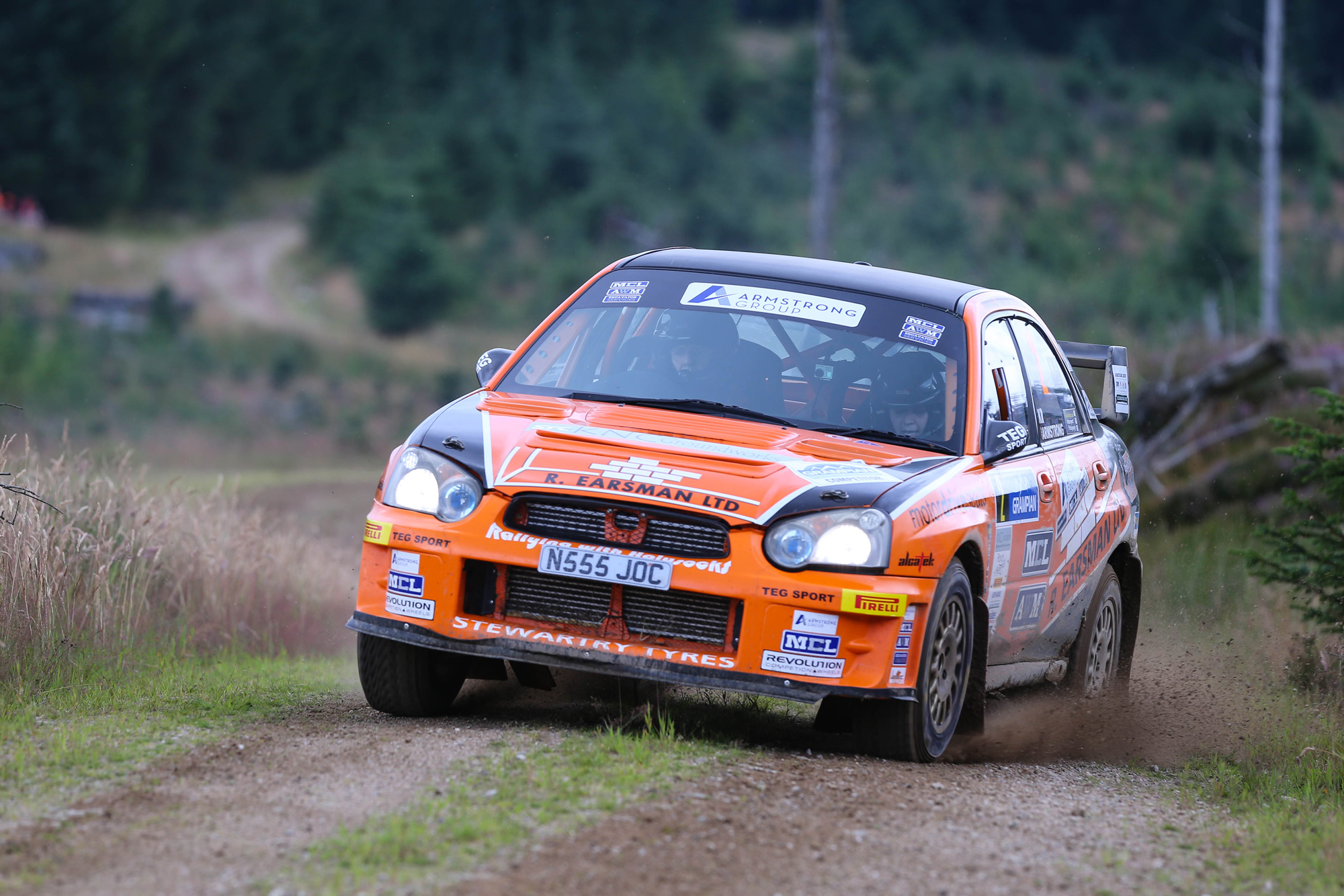 Jock Armstrong Subaru Impreza