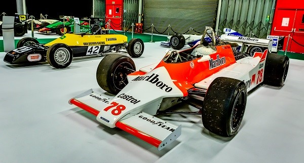 Historic Formula 1 car - Celebrating 70 years of Formula One with 'The Greatest Grid'