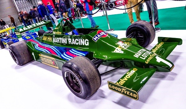 Green historic Formula 1 car - Reis Race Retro celebrating 70 years of Formula One with 'The Greatest Grid'