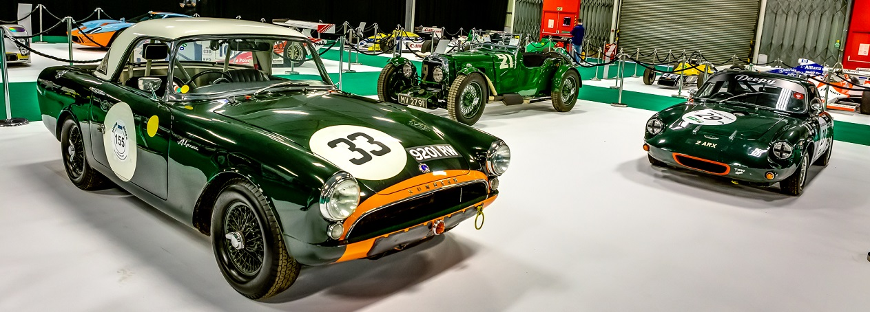 Reis Race Retro - Historic Motorcars on display at the show