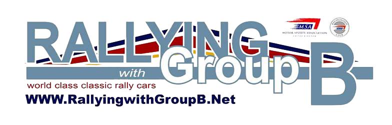 Rallying with Group B Logo