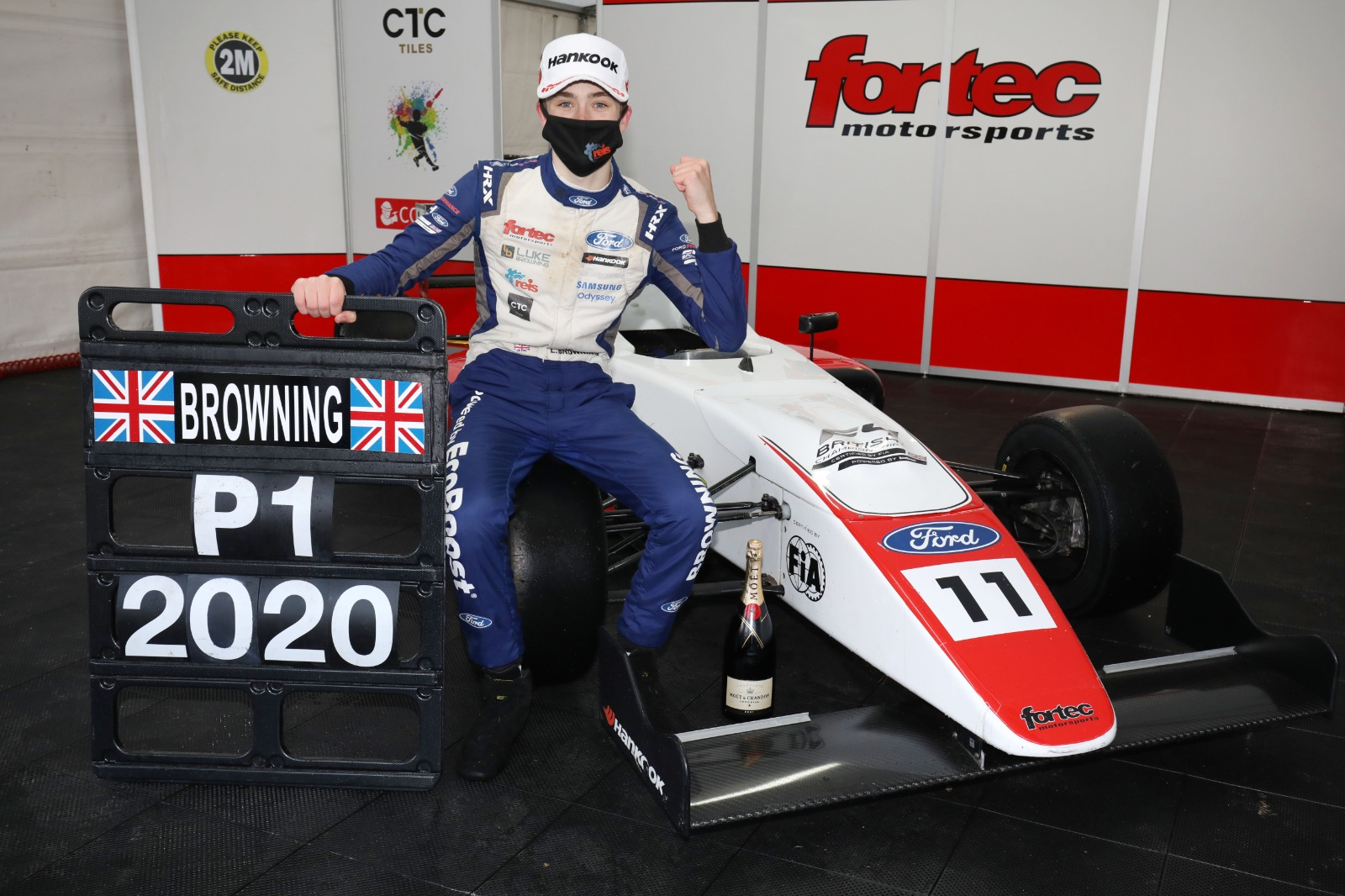 LUKE BROWNING CROWNED BRITISH F4 CHAMPION 2020 IN DRAMATIC FINALE